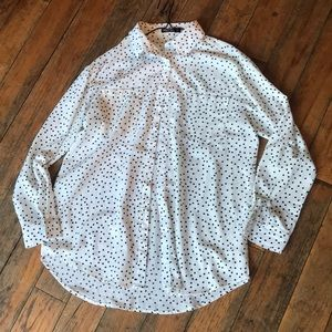 Nasty Gal Med button down blouse